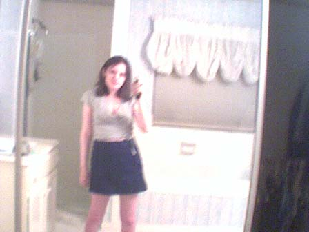 let's face it, I just like this one cause I'm posing like I'm having fun; it's reallly blurry